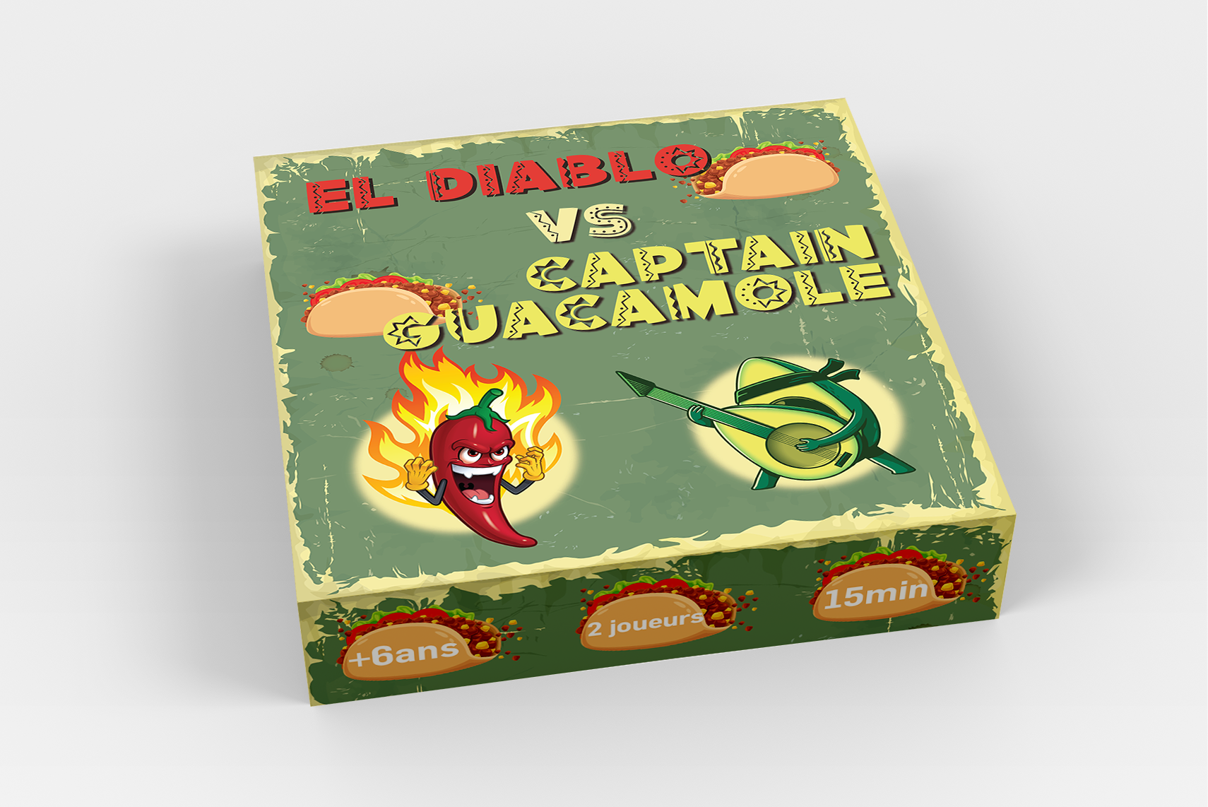 El Diablo VS Captain Guacamole